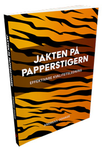 Andreas Odhages bok JAKTEN PÅ PAPPERSTIGERN