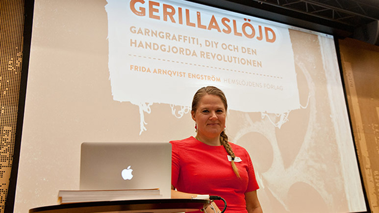 Frida Arnqvist Engström föreläser
