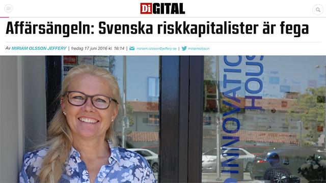 Affärsängeln: Svenska riskkapitalister är fega