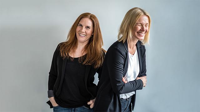 Camilla Kallenbäck och Marie Grafström