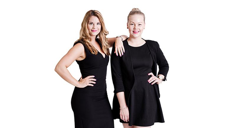 Cecilia Victoria Åslund och Jenni Laapotti