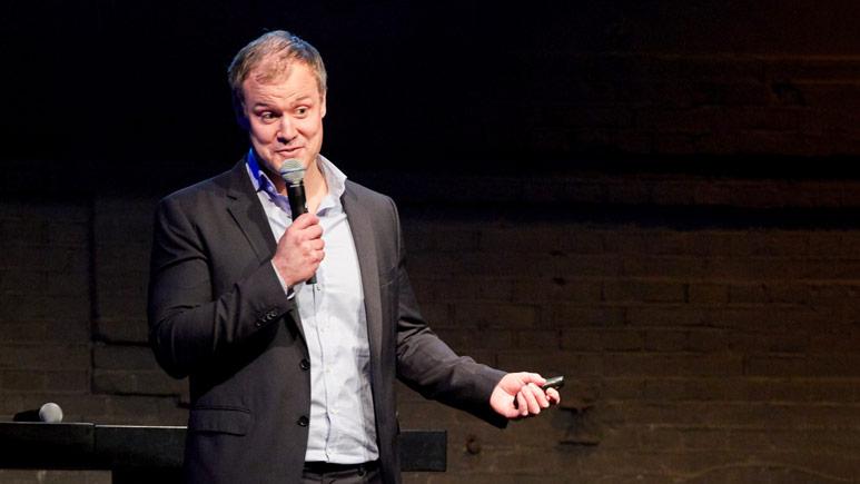 Erik Elvingsson Hedén föreläser