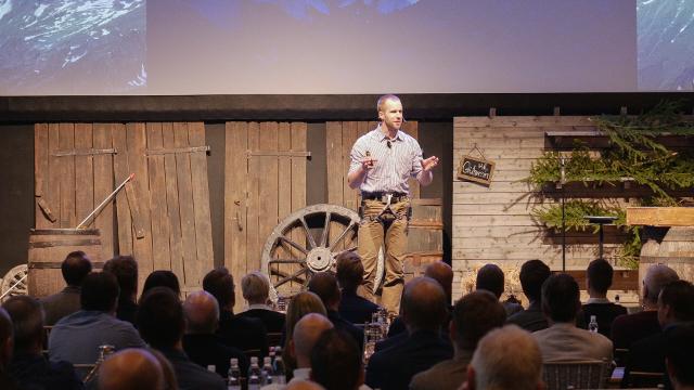 Fredrik Sträng föreläser