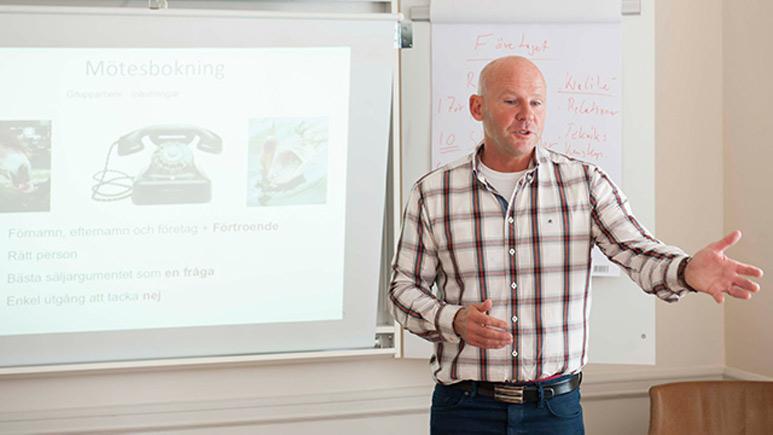 Göran Vernersson föreläser
