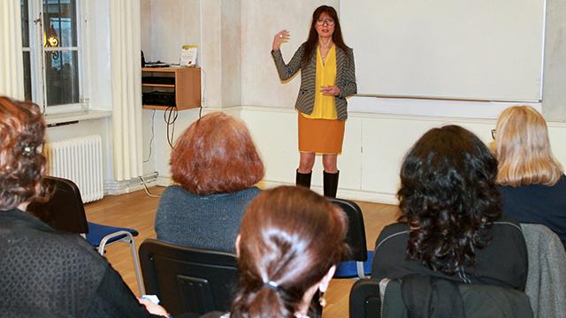 Ing-Marie Bergh föreläser