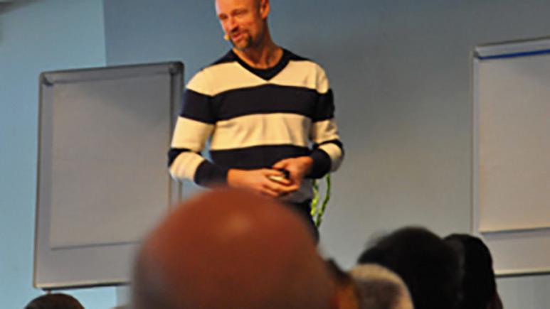 Jan Tern föreläser