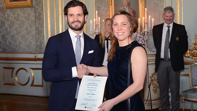 Jenny Edner & Prins Carl Philip