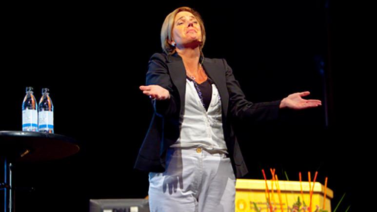 Karin Klerfelt föreläser