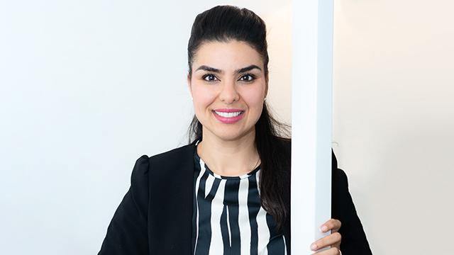 Leila Karchaoui, föreläsare arbetsglädje