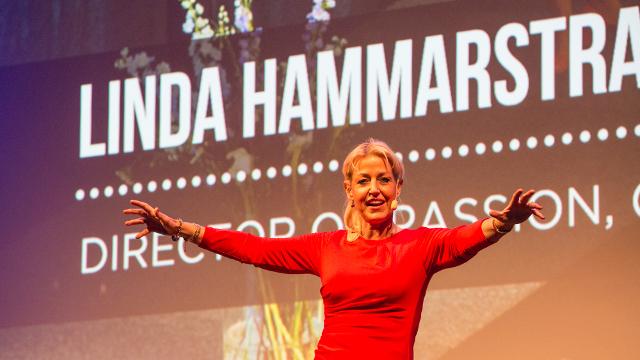 Linda Hammarstrand föreläser