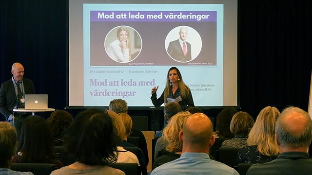 Liza-Maria Norlin föreläser