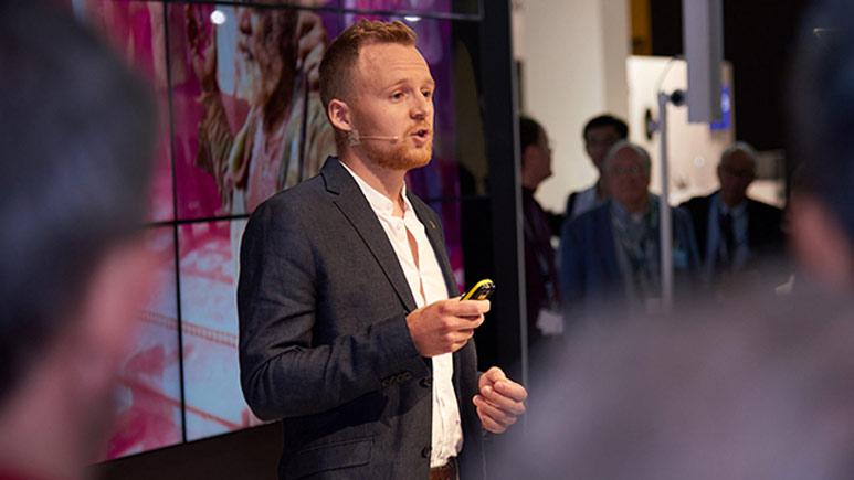 Martin Edström föreläser