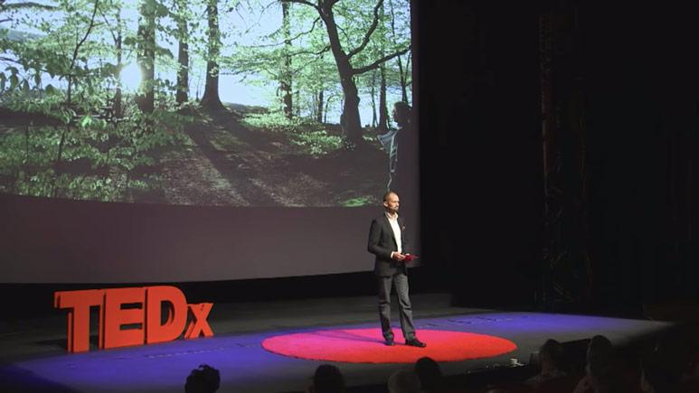 Mikael Karlsson föreläsare på TEDx