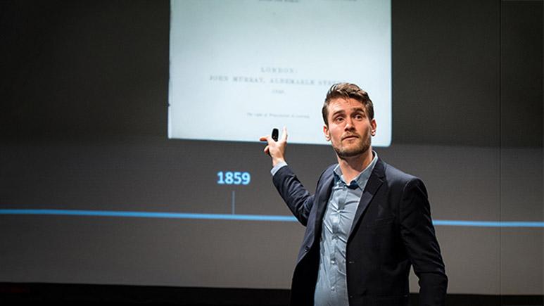Nicholas Fernholm föreläser