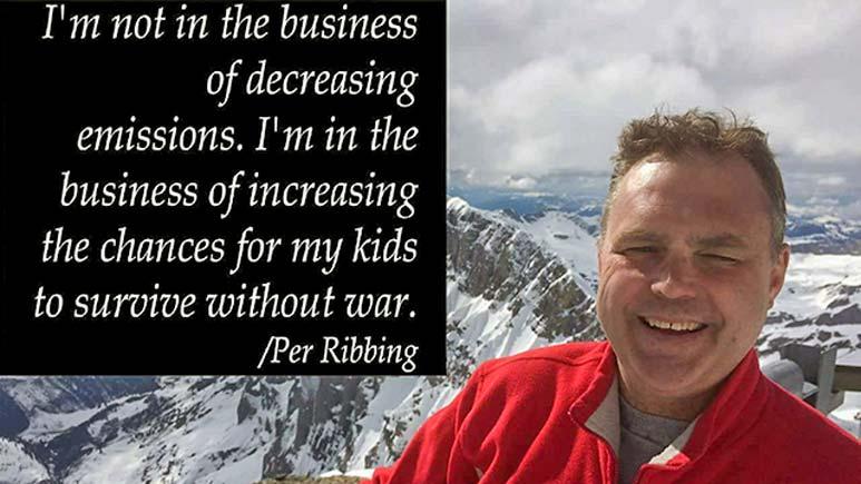 Per Ribbing, föreläsare hållbar utveckling