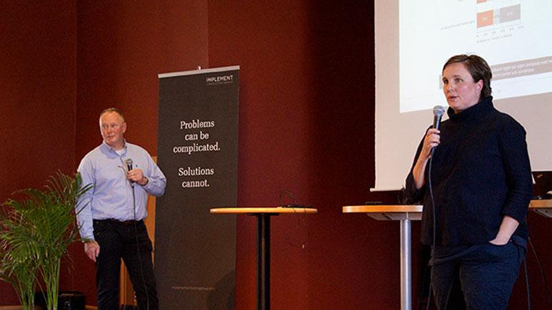 Roger Lundegård föreläser