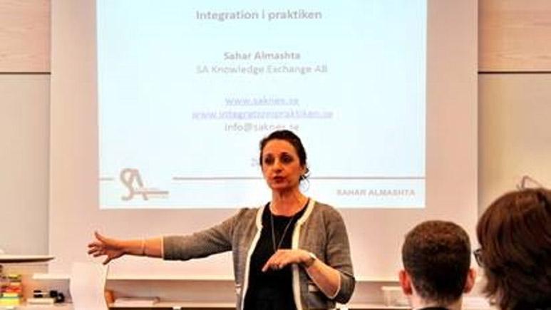 Sahar Almashta föreläser