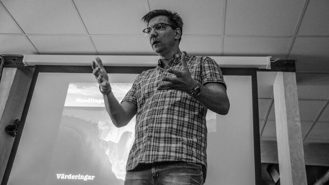 Stefan Berg föreläser