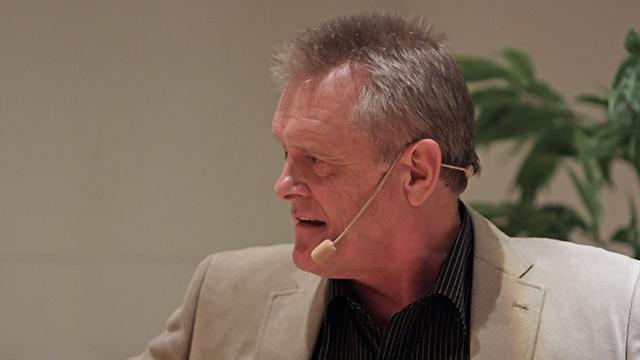 Terry Evans föreläser
