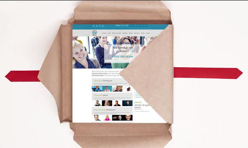 Sveriges Talare får ny hemsida