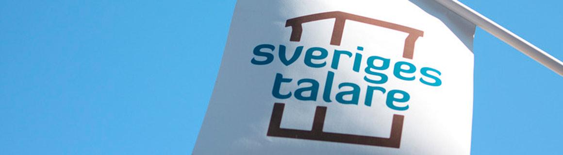 Sveriges Talare flagga