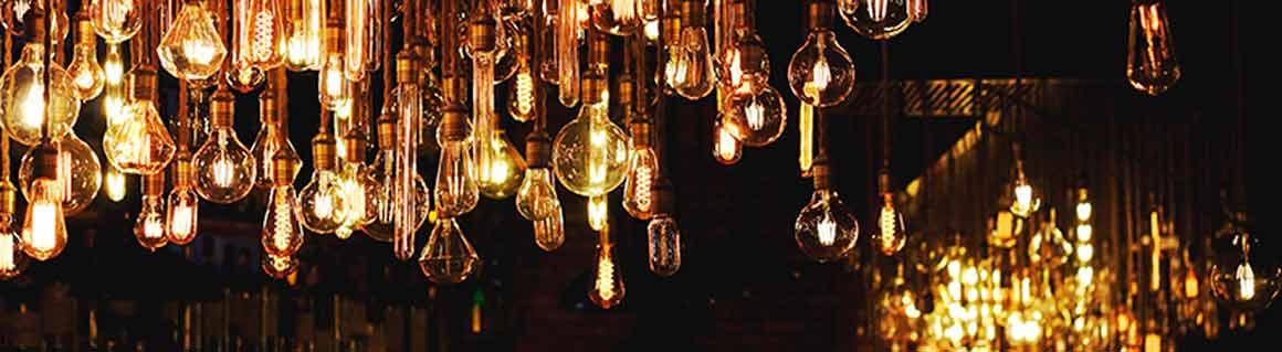 Föreläsare ljus och belysning