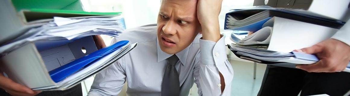 Föreläsare stress