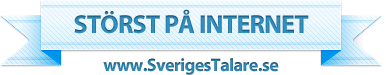 Sveriges Talare - Störst på internet - www.sverigestalare.se