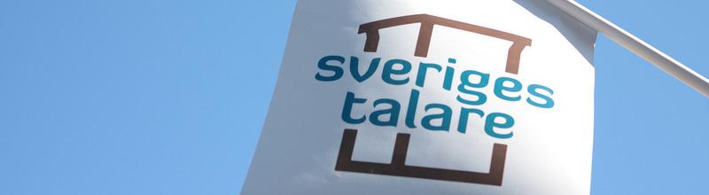 Sveriges Talare talarförmedling flagga