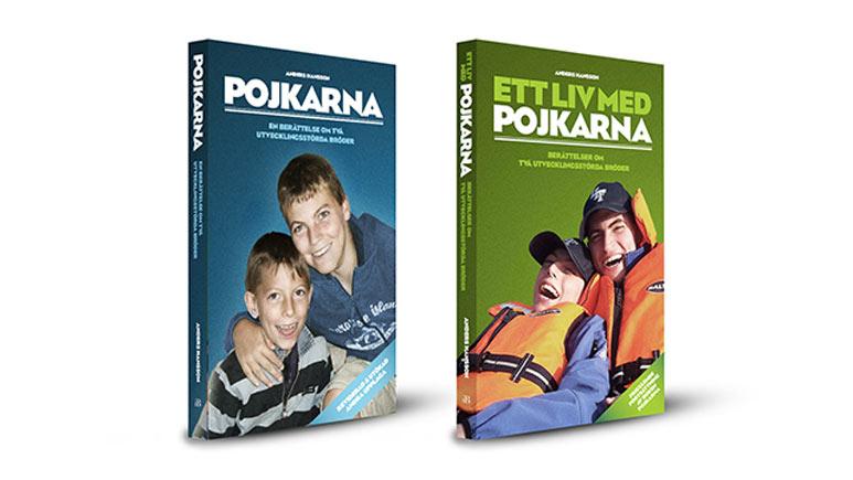 """Böckerna """"Ett liv med pojkarna""""och """"Pojkarna : en berättelse om två utvecklingsstörda bröder"""" av Anders Hansson"""