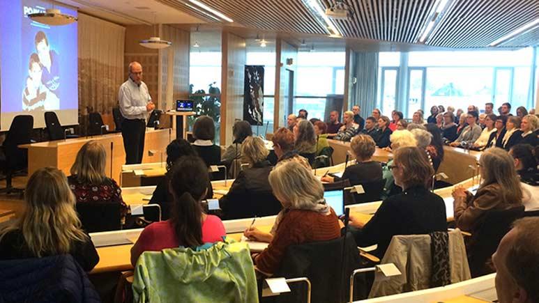 Anders Hansson föreläser