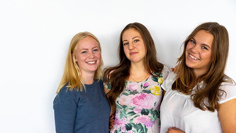 Bakom skärmen - Emma Wretman, Sonja Otteklint och Cecilia Sahlén