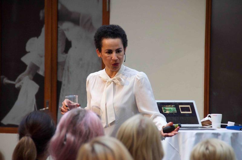 Sveriges Talare på Berns med Jackie Kothbauer