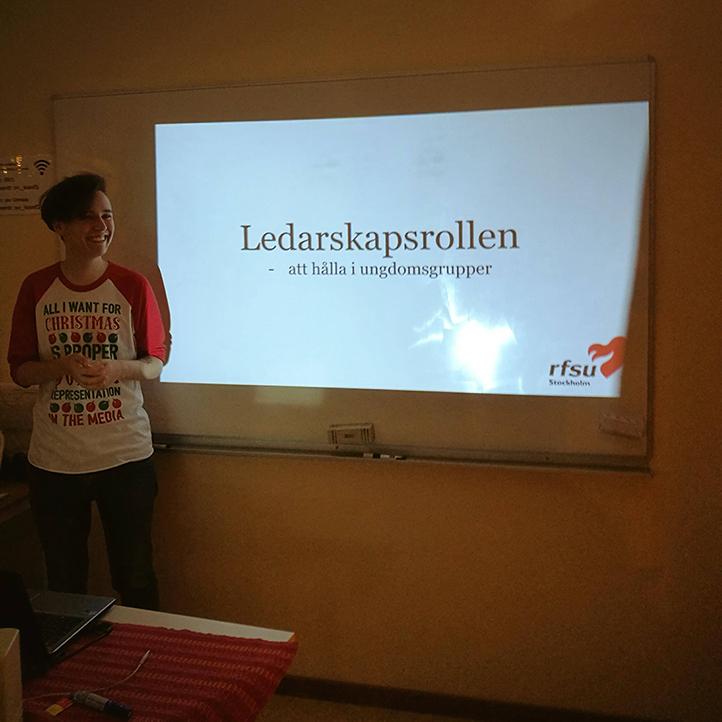 Christoffer Strokirk föreläser