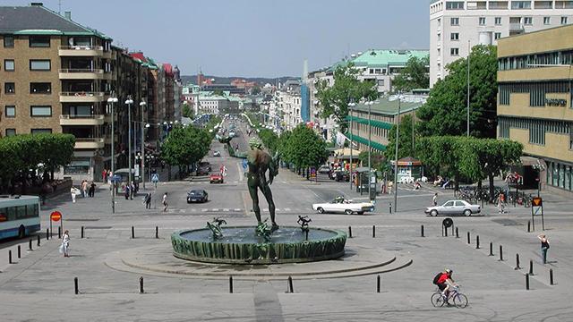 Götaplatsen i Göteborg