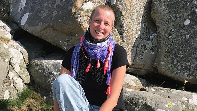 Jeanette Rahbe, föreläsare våld i nära relationer