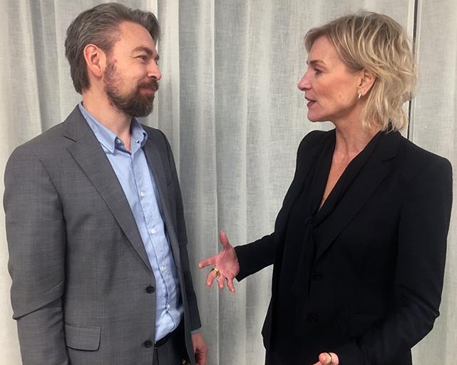 Ewa Braf och Love Lönnroth